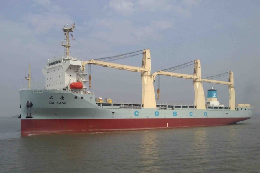 Cosco Changes Heavylift Orders to MPVS!